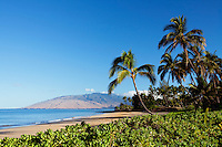 Beautiful sunny day at Charley Young Beach, Maui, Hawaii.