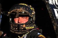 Apr 17, 2011; Surprise, AZ USA; LOORRS driver Rob MacCachren (1) after winning round 4 at Speedworld Off Road Park. Mandatory Credit: Mark J. Rebilas-