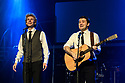 London, UK. 04.09.2017. The Simon & Garfunkel Story opens at the Lyric, Shaftesbury Avenue. Starring Charles Blyth (as Art Garfunkel) and Sam O'Hanlon (as Paul SImon). This 50th Anniversary Celebration also features a full live band and brass orchestra performing all the hits including 'Mrs Robinson', 'Cecilia', 'Bridge Over Troubled Water', 'Homeward Bound' and many more. Written, directed and designed by Dean Elliott. Picture shows: Charles Blyth (as Art Garfunkel) and Sam O'Hanlon (as Paul SImon). Photograph © Jane Hobson.
