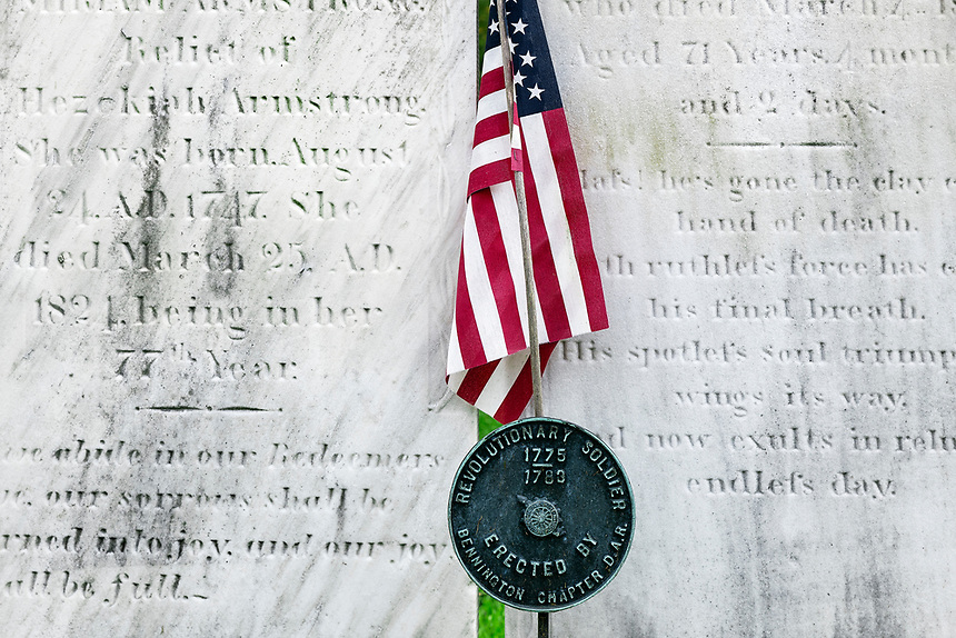 Grave of a revolutionary war soldier.