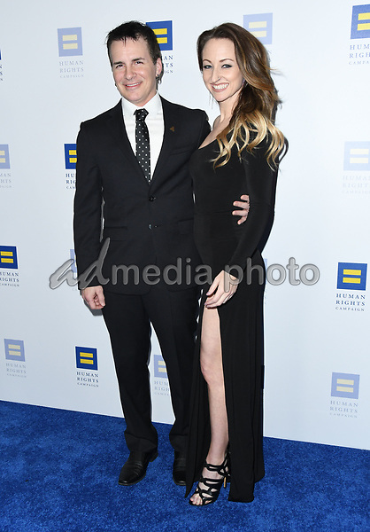 10 March 2018 - Los Angeles, California - Hal Sparks, Summer Soltis. The Human Rights Campaign 2018 Los Angeles Dinner held at JW Marriott LA Live. Photo Credit: Birdie Thompson/AdMedia