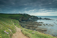 Lizard Point, the British mainland's most southerly point, Lizard Peninsula, Cornwall