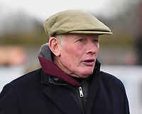 Trainer Gary Moore during Horse Racing at Plumpton Racecourse on 10th February 2020