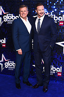 Aled Jones and Russell Watson<br /> arriving for the Global Awards 2020 at the Eventim Apollo Hammersmith, London.<br /> <br /> ©Ash Knotek  D3559 05/03/2020