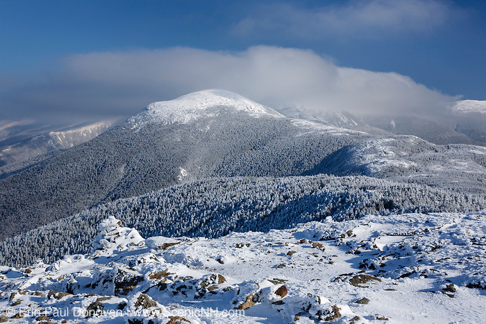 The Presidential Range from Mount Pierce in the White Mountains, New Hampshire USA