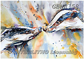 Simon, REALISTIC ANIMALS, REALISTISCHE TIERE, ANIMALES REALISTICOS, paintings+++++LizC_MovingTheGoalposts,GBWR58,#a#, EVERYDAY