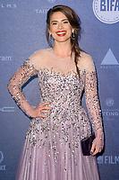 Hayley Atwell<br /> arriving for the British Independent Film Awards 2017 at Old Billingsgate, London<br /> <br /> <br /> ©Ash Knotek  D3359  10/12/2017