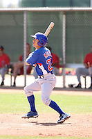 David Macias, Chicago Cubs 2010 minor league spring training..Photo by:  Bill Mitchell/Four Seam Images.