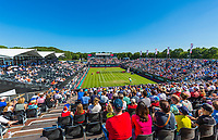 Den Bosch, Netherlands, 13 June, 2017, Tennis, Ricoh Open, Overall view of centercourt<br /> Photo: Henk Koster/tennisimages.com