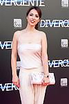 "Spanish actress Cristina Brondo  attend the Premiere of the movie ""DIVERGENT"" at Callao Cinema inMadrid, Spain. April 03, 2014. (ALTERPHOTOS/Carlos Dafonte)"