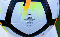 Jacksonville, FL - Thursday April 5, 2018: USWNT vs Mexico, NIKE Ball during an International friendly match versus the women's National teams of the United States (USA) and Mexico (MEX) at EverBank Field.