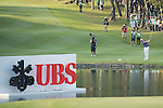 David Lipsky of USA plays an approach shot on the 18th hole during the 58th UBS Hong Kong Golf Open as part of the European Tour on 11 December 2016, at the Hong Kong Golf Club, Fanling, Hong Kong, China. Photo by Marcio Rodrigo Machado / Power Sport Images