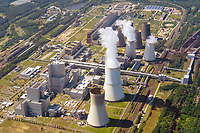 Das Kraftwerk Boxberg, obersorbisch Hamorska milinarnja, ist ein deutsches Braunkohlekraftwerk in Boxberg/O.L. in der Oberlausitz (Sachsen) im Lausitzer Braunkohlerevier. Während seiner höchsten Ausbaustufe in den 1980er-Jahren war es mit einer Nennleistung von 3520 Megawatt das größte Kohlekraftwerk in der DDR.<br /> <br /> <br /> Kraftwerk Boxberg, Luftaufnahme ,<br /> Das von der Lausitz Energie Kraftwerke AG (LEAG) betriebene Kraftwerk hat eine Nennleistung von 2575 Megawatt.
