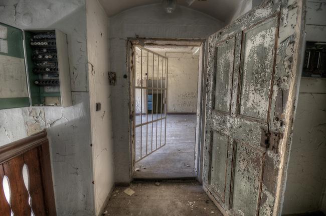 Abandoned Stasi prison