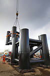 Red Funnel Lay-by Berth Support Posts By SMS Group