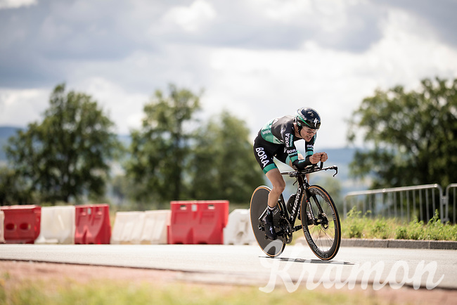 Emanuel Buchmann (DEU/BORA-hansgrohe)<br /> <br /> Stage 4 (ITT): Roanne to Roanne (26.1km)<br /> 71st Critérium du Dauphiné 2019 (2.UWT)<br /> <br /> ©kramon