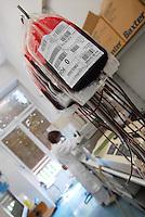 - Sacco Hospital of Milan, unit of  Immunohematology and Transfusion Medicine, laboratory for analysis of the blood destined to the transfusions....- Ospedale Sacco di Milano, reparto di Immunoematologia e Medicina Trasfusionale, laboratorio per l'analisi del sangue destinato alle trasfusioni