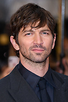 "Michiel Huisman<br /> arriving for the world premiere of ""The Guernsey Literary and Potato Peel Pie Society"" at the Curzon Mayfair, London<br /> <br /> ©Ash Knotek  D3394  09/04/2018"