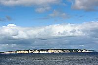 Kreideküste der Insel Møn, Vordingborg Kommune, Dänemark<br /> Chalk cliffs of isle of Moen, Vordingborg municipality, Denmark