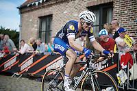 Zdenek Stybar (CZE/Etixx-QuickStep) up the Oude Kwaremont<br /> <br /> 100th Ronde van Vlaanderen 2016