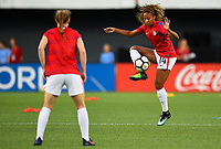 Cincinnati, OH - Tuesday September 19, 2017: Casey Short during an International friendly match between the women's National teams of the United States (USA) and New Zealand (NZL) at Nippert Stadium.