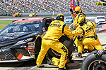 Monster Energy NASCAR Cup Series driver Matt Kenseth (20) in action during the NASCAR O'Reilly Auto Parts 500 race at Texas Motor Speedway in Fort Worth,Texas.