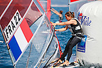 ISAF Sailing World Cup Hyères - Fédération Française de Voile. RSX Women, Eugénie Ricard.