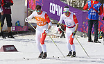 Brian Mckeever and Erik Carleton, Sochi 2014. Para Nordic Skiing // Ski paranordique.<br />