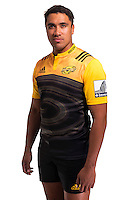 Iopu Iopu-Aso. Hurricanes Super Rugby official headshots at Rugby League Park, Wellington, New Zealand on Wednesday, 6 January 2016. Photo: Dave Lintott / lintottphoto.co.nz