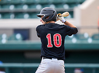 Dunnellon Tigers Drew Leinenbach (10) during the 42nd Annual FACA All-Star Baseball Classic on June 6, 2021 at Joker Marchant Stadium in Lakeland, Florida.  (Mike Janes/Four Seam Images)