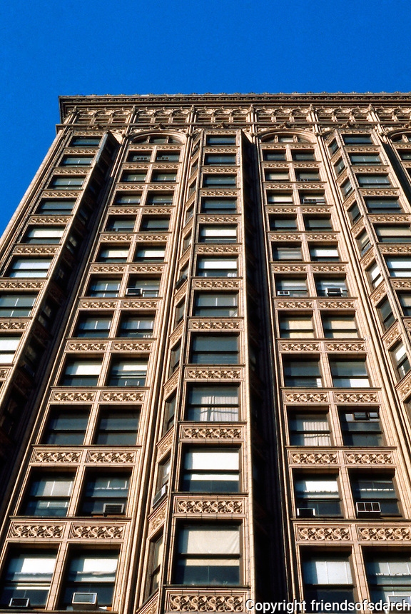 Burnham & Root: Fisher Bldg., Chicago. 1896.  D. H. Burnham & Co.