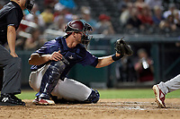 Frisco RoughRiders Alex Kowalczyk (27) during a Texas League game against the Springfield Cardinals on May 6, 2019 at Dr Pepper Ballpark in Frisco, Texas.  (Mike Augustin/Four Seam Images)