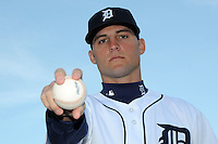 Feb 21, 2009; Lakeland, FL, USA; The Detroit Tigers pitcher Rudy Darrow (65) during photoday at Tigertown. Mandatory Credit: Tomasso De Rosa/ Four Seam Images