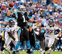 The Carolina Panthers vs. the Denver Broncos at Bank of America Stadium in Charlotte, North Carolina.Photos by: Patrick Schneider Photo.com