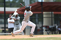 Mark Castle (2) of Creekside High School in St Johns, Florida during the Under Armour Baseball Factory National Showcase, Florida, presented by Baseball Factory on June 12, 2018 the Joe DiMaggio Sports Complex in Clearwater, Florida.  (Nathan Ray/Four Seam Images)