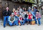 Debbie and Bruce Smith family at Avila Valley Barn, San Luis Obispo County, California