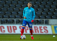 31st October 2020; Liberty Stadium, Swansea, Glamorgan, Wales; English Football League Championship Football, Swansea City versus Blackburn Rovers; Harvey Elliott of Blackburn Rovers during the warm up