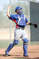 Brett Nicholas - Texas Rangers - 2010 Instructional League.Photo by:  Bill Mitchell/Four Seam Images..