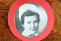 """COPY BY TOM BEDFORD<br /> Pictured: Undated picture of midwife Joan Phillips when she was young.<br /> Re: A midwife had her dying wish granted when an undertaker she delivered more than 50 years ago arranged her funeral in Haverfordwest, Pembrokeshire.<br /> Joan Phillips told undertaker Robin Folland: """"I brought you into the world so I want you to take me out of it.""""<br /> The pair joked about the unusual arrangement for years when they saw each other in the street.<br /> But when Joan passed away aged 88 Robin stepped in to give her a good send off.<br /> Robin, 54, said: """"Joan lived nearby and when my mum went into labour she was there to deliver me.<br /> """"When I started working for my dad's funeral company Joan told me I had to look after her when the time came.<br /> """"She used to say that she brought me into the world so I had to take her out of it."""