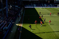17th April 2021; Kenilworth Road, Luton, Bedfordshire, England; English Football League Championship Football, Luton Town versus Watford; Ismaïla Sarr of Watford gives chase on the right wing.