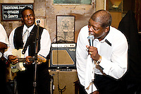 At the Preservation Hall in New Orleans on August 26, 2006.