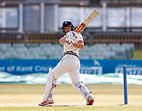 Ollie Robinson bats for Kent during Kent CCC vs Lancashire CCC, LV Insurance County Championship Group 3 Cricket at The Spitfire Ground on 25th April 2021