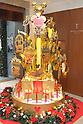 Golden Disney goods at Ginza Tanaka