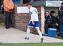 Peterhead's Rory McAllister is sent off
