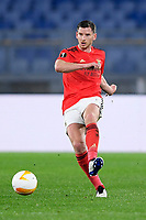 18th February 2021, Rome, Italy;  Jan Vertonghen of SL Benfica during the UEFA Europa League round of 32 Leg 1 match between SL Benfica and Arsenal at Stadio Olimpico, Rome, Italy on 18 February 2021.