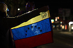 Venezuelans in Mexicali Support Juan Guaido