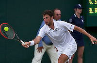 England, London, 25.06.2014. Tennis, Wimbledon, AELTC, Robin Haase (NED))<br /> Photo: Tennisimages/Henk Koster