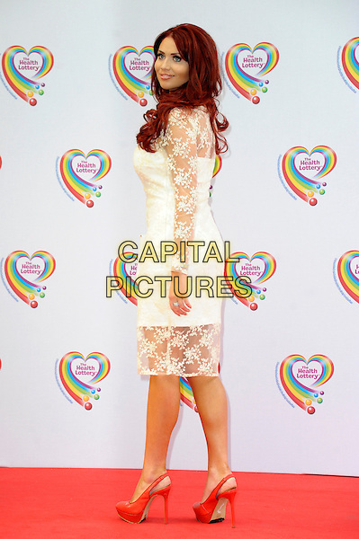 LONDON, ENGLAND - JUNE 02: Amy Childs attends the Health Lottery Tea Party at The Savoy Hotel on June 2, 2014 in London, England.<br /> CAP/CJ<br /> ©Chris Joseph/Capital Pictures