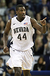 Nevada's Dario Hunt during a second round NIT college basketball game against Bucknell in Reno, Nev. , on Sunday, March 18, 2012. Nevada won 75-67..Photo by Cathleen Allison