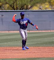 Eddys Leonard - Los Angeles Dodgers 2021 spring training (Bill Mitchell)